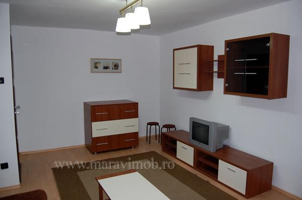 Mobila minimalista pentru living