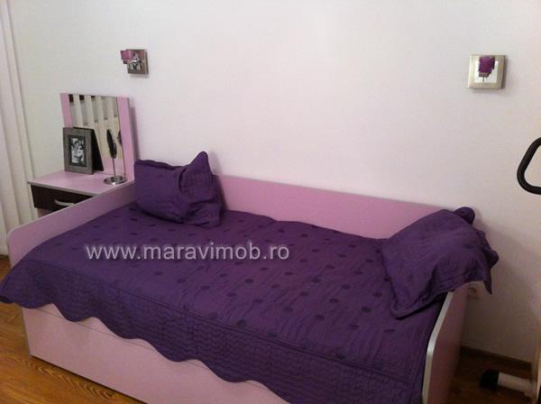 Dormitor mansarda mobila la comanda maravi mob bucuresti for Canapea pat